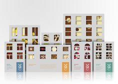 Упаковка мира: Творческий Архив конструкцию упаковки и Галерея: Hotel Chocolat (студенческая работа)