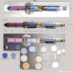 """""""And here's the production artwork for the all new sonic screwdriver…  #DoctorWho #DrWho #whovian #fandom #BTS #BehindTheScenes"""""""
