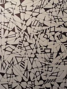 Lots of triangles. Ceeceeart.blogspot.com