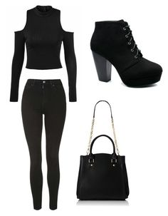 """""""Casual School Day Outfit #22"""" by seragart on Polyvore featuring Topshop"""