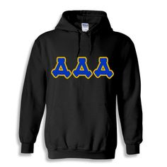 Delta Delta Delta Bubble Twill Hooded Sweatshirt from GreekGear.com