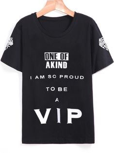 world-of-asian-style:    VIP Print Loose T-Shirt    A bad day?...