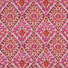 Manuel Canovas  Boheme-Rose/Orange