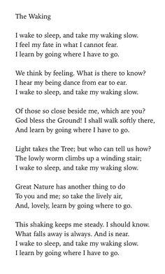 Roethke Poems 7