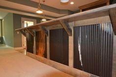 rustic basement bar ideas - Google Search