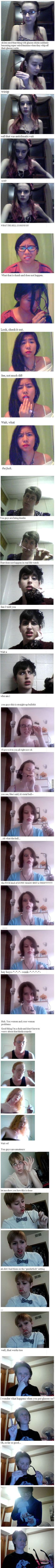Taking off glasses makes you hotter. It's proven! - 9GAG