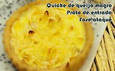 Quiche de queijo magro - Receita dukan #receitas #receitasdukan #faseataque…