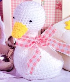 Cuddle Duck (Too cute for words) ~ free pattern