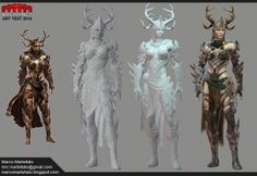Arenanet Art Test 2014 by TerronViking.deviantart.com on @deviantART
