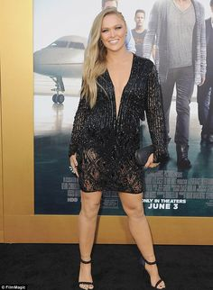 Ronda Rousey has featured in numerous commercials and movies including the movie Entourage and Fast and the Furious 7