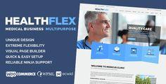 Download  HEALTHFLEX Medical Health WordPress Theme