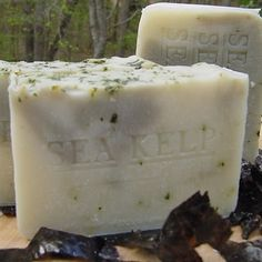 Artisan Unscented Soap Sea Kelp Varech  share and sale on #Canada USA Brazil and all over the world ..