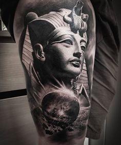 Best Sleeve Tattoos, Cover Up Tattoos, Tattoo Drawings, Pharaoh Tattoo, Anubis Tattoo, Hamsa Tattoo, Sanskrit Tattoo, Tattoo Arm, Tattoos For Guys
