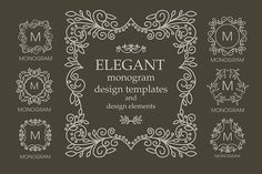 Set of design elements by Sofia on @creativemarket