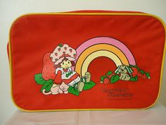 Strawberry Shortcake! I wish I would've kept my ginormous collection of all things strawberry shortcake
