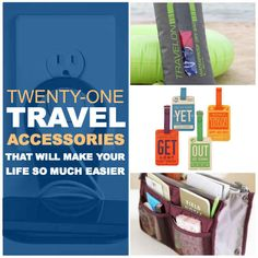 21 Travel Accessories That Will Make Your Life So Much Easier (via tips Travelling Tips, Packing Tips For Travel, Travel Essentials, Packing Hacks, Packing Ideas, Backpack Essentials, Backpacking Tips, Travel Info, Time Travel