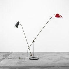PIERRE GUARICHE  Equilibrium floor lamp  Disderot