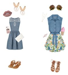 """""""Lunch break """" by h3llo6 on Polyvore featuring Allegra K, Oasis, Billabong, Style & Co., Casetify, Kate Spade, Emporio Armani, Aamaya by priyanka, Forever 21 and Lime Crime"""