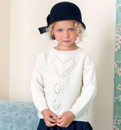 yarn for kids- pull for girls - Modèle pull fantaisie fille - Modèles Enfant - Phildar