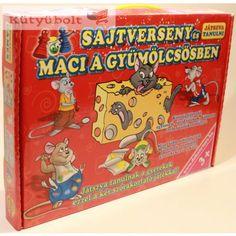 TÁRSASJÁTÉK JÁTSZVA TANULNI CK346805 Lunch Box, Bento Box
