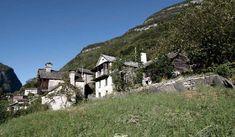Linescio, Switzerland, 200 year old house with renovations of Buchner Bründler Architekten