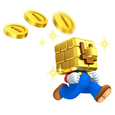 NEW SUPER MARIO BROS. 2 Artwork Shows Off the Upcoming Game's Focus on Gold - News - GameTyrant