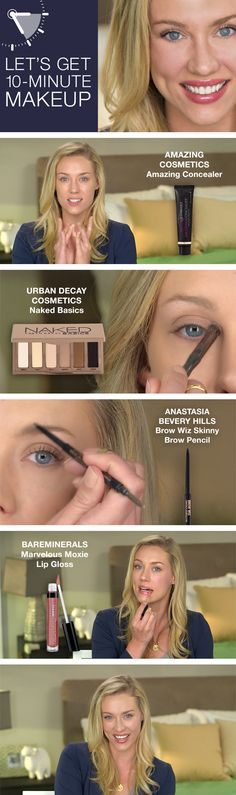 Watch how to get an easy, natural no-makeup look in under 10 minutes in our tutorial.