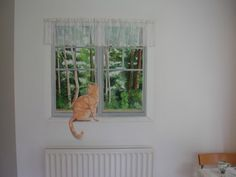 Another example of a trompe l'oeil window