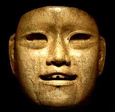 Masque ceremoniel Olmeque...