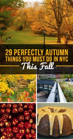 29 Perfectly Autumn Things You Must Do In NYC This Fall