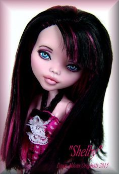 OOAK Monster High Repaint  ***~SHELBY~***    by DAO