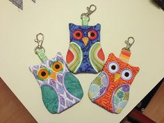 New thimble, furniture refurb, owls and sundry