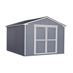 Handy Home Products Cumberland 10 Ft. X 12 Ft. Wood Shed Kit With Floor  Frame 18364 5   The Home Depot