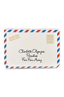 CHARLOTTE OLYMPIA Air Mail pouch £525