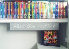 Disney shiny DVD collection :)
