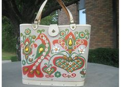 Enid Collins ~ Hearts & Flowers bag