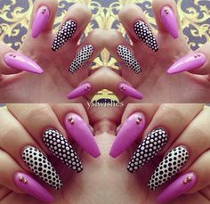 Would like this design on square nails