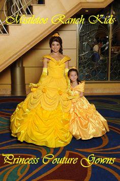 Disney Princess Belle gown Princess Couture Collection Dress