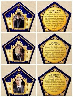 photograph relating to Chocolate Frog Cards Printable referred to as 52 beste afbeeldingen van Chocolate Frog Playing cards within just 2016