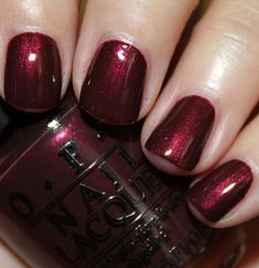 OPI Mariah Carey Holiday 2013 - Sleigh Ride For Two