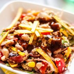 I'm Baacck …. & BBQ Ranch Quinoa Salad Recipe - ZipList