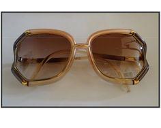 46b55de287 TED LAPIDUS SUNGLASSES   Vintage Lunettes de Soleil Ted Lapidus . de la  boutique LaChinneuse sur