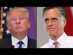 Let's give your vote for Donald Trump. Poor Mitt.  Why is this relevant?  Romney ran and lost?