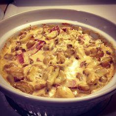 Cooking Pinterest: Potato and Farmer Sausage Casserole