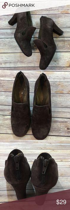 """Aerosoles Brown Faux Suede Shoes Aerosoles Brown Faux Suede Shoes. Size 8. Heel height 3"""". AEROSOLES Shoes"""
