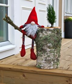Nisse på gren - I want to make this!