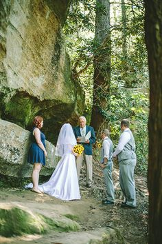 Scenic Outdoor Wedding At The Beautiful Red River Gorge Photography By Allison Maggard Kentucky
