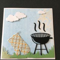 Kort / card Grillhandske / oven Glove Grill
