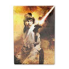Star Wars Luke Skywalker Blaster 3.5 Inch Fridge Magnet @ niftywarehouse.com #NiftyWarehouse #Geek #Products #StarWars #Movies #Film