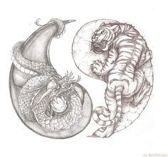 Yin Yang Designs | 30 Cool Yin Yang Tattoos - Perfect Designs & Ideas | BestPickr